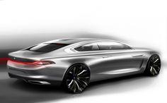 2013 BMW Pininfarina Gran Lusso Coupe. Spiritual successor to the E31 8 Series.