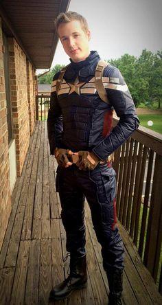 Captain America by Stephen Herron.