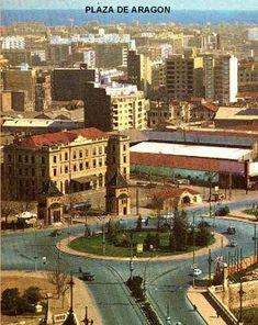 PLAZA ARAGON Valencia, Nostalgia, Mansions, House Styles, Zaragoza, Old Pictures, Past Tense, Cities, Pintura