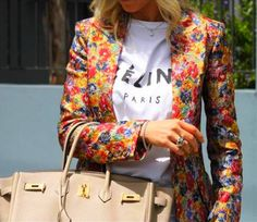 Flower power jacket !!