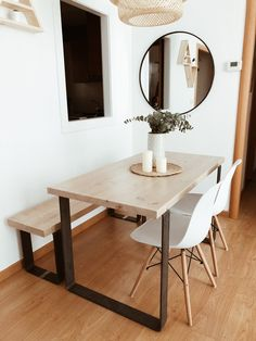 Nordic-rectangular-pequeño-apartamento-minimalista-de-madera-moderna ...
