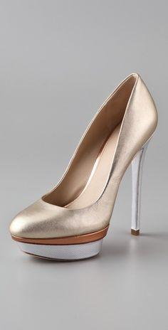 B Brian Atwood Fontanne Platform Pumps $350...again, I wish I wore heels!