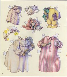 The Hopper Family 5 ~ Antique paper dolls and paper toys to make - Joyce hamillrawcliffe - Picasa Web Albums