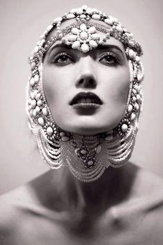 Photographer: Jennie Bregande Model: Tatjana Sinkevica @ Muse Model Management Makeup: Imane Hamdan Fiocchi by AdamD Victor Gonzalez, Foto Fashion, Fashion Art, Style Fashion, Russian Fashion, Russian Style, Monochrom, Robins, Headgear
