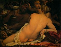 Venus with Satyr and Cupids, 1588, Carracci