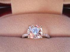 Champagne colored diamond...