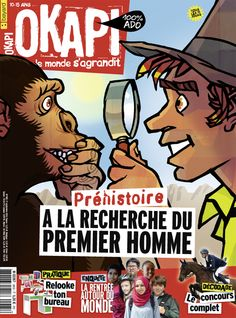 Revue Okapi  n°985 - septembre 2014 : À la recherche du premier homme