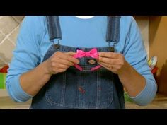 How to make a duct tape bow tie which can be worn on a headband or as a tie.