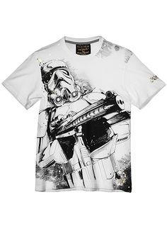 Star Wars Storm Trooper Sketch T-Shirt