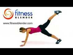 FitnessBlender: Express Calorie Blaster - 10 Minute Toning & Cardio Workout (45 seconds each of Lateral Jumps; Deep Squats; Plank Tuck + Kicks; Side Steps + Center Squats; Up & Out Jacks; Jumping Oblique Twists; Squat Jacks; Side Shuffle Hops; Plyometric Push Ups and High Knees; posted 2/11/12, 10 mins)