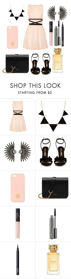 """First date"" by austin-dobbs ❤ liked on Polyvore featuring Band of Outsiders, CO, Sophia Webster, Tory Burch, Mulberry, NARS Cosmetics and MAC Cosmetics"