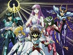 Saint Seiya or Caballeros del Zodiaco...my favorite anime. A classic. About Greek and Norse Mythology and the signs of the Zodiac. Just pure awesomeness.