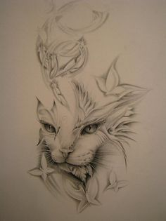 feather cat.... this is the one for my neck!!