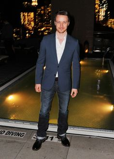 James McAvoy attends the after party for a screening of 'Filth' hosted by Magnolia Pictures and The Cinema Society at Landmark Sunshine Cinema on May 19, 2014 in New York City