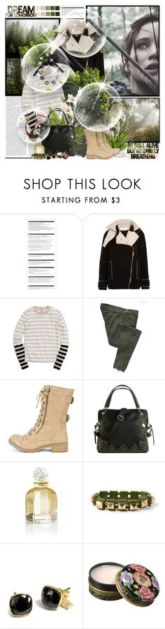 """""Destroying things is much easier than making them- Suzanne Collins, The Hunger Games ''"" by purplecherryblossom ❤ liked on Polyvore featuring Arche, Chloé, Coach, Miss Sixty, Big Buddha, Balenciaga, claire's, Anna Sui and Marni"
