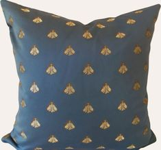 Blue Amp White Check Floor Cushion 100 Cotton 40 X 40 X