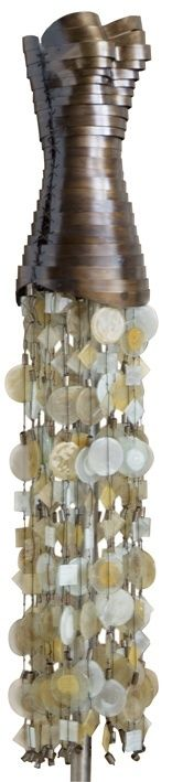 "ADRIANA HOYOS ""Quilago"" Glass Skirt Sculpture #contemporary #homeaccessories"