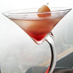 Lychee martini 1 1/2 oz Soho® lychee liqueur 1 oz vodka 1 dash lychee juice