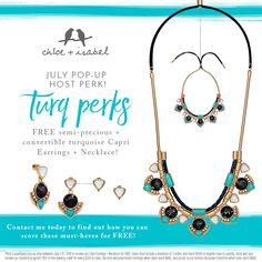 Do you love free jewelry?? Host an incredible pop up!! It's that simple! Contact me for more details.. 😍🛍💎💍🛍🎉📿