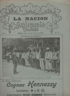 Magazine Back Issue, La Nacion, Suplemento Illustrado, Buenos Aires, Argentina, January 22, 1903, good shape, illustrated, in Spanish by VintageNEJunk on Etsy