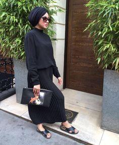 Today I'm Wearing. Islamic Fashion, Muslim Fashion, Modest Fashion, Hijab Fashion, Fashion Outfits, Fashion Styles, Turban Outfit, Turban Hijab, Hijab Wear
