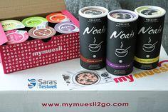 Meine #mymuesli #Porridge Bestellung ist endlich angekommen. Auf ein schnelles und gesundes #Früchstück
