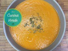 Tomaten-Süßkartoffel Suppe - Rezept von Joes Cucina Verde Cantaloupe, Fruit, Low Carb, Food, Sweet Potato Recipes, Food Food, Low Carb Recipes, Meal, The Fruit
