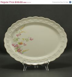 SALE Garland Taylor Smith Taylor Large Oval Platter by charmings