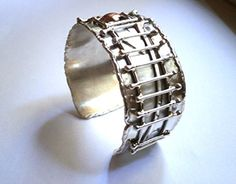 Summer Fashion Outfits, Women's Fashion, Handmade Silver, Handmade Jewelry, Jewelry Boards, Sterling Silver Cuff Bracelet, All About Fashion, Cuff Bracelets, Silver Jewelry