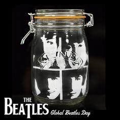 #GlobalBeatlesDay Kilner Jars, Mason Jars, Jar Crafts, The Beatles, Craft Ideas, Make It Yourself, Mugs, Learning, Cooking