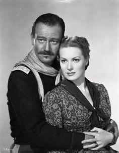 John Wayne - Maureen O'Hara-appeared together in 5 films, but it seemed like more.