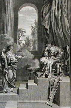 130. Nathan's parable. 2 Samuel cap 12 v 7. Marillier