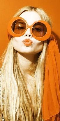 Editorial Orange – Orange, Sunglasses