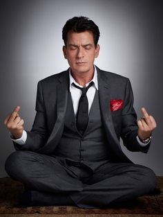 Charlie Sheen by Gavin Bond    Yup …