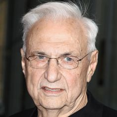 Frank Gehry, Canadian Architect.  Began designing houses in the open angular style of Frank Lloyd Wright. Designed Guggenheim Museum, Bilbao, Spain