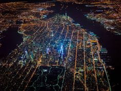 These Extraordinary Aerial Photographs Capture the Pulse of New York City