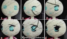 Amigurumi Doll eyes - DIY