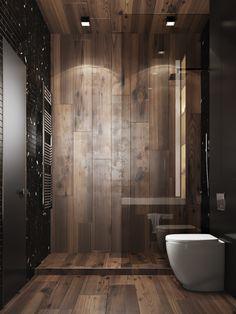 Home Design on Behance Washroom Design, Toilet Design, Bathroom Design Luxury, Modern Bathroom Design, Bath Design, Modern Floor Tiles, Best Bathroom Designs, Modern Shower, Bathroom Renovations