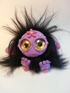 Custom-made Troll - Molly by Orang3Marmalade.deviantart.com on @DeviantArt