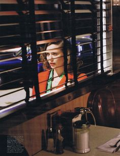 "W October 2011 ""The Other Olsen"" Model: Elizabeth Olsen Photographer: Alex Prager. Reminds me of Saul Leiter Inspiration Quotes, Spiritual Inspiration, Motivation Inspiration, Color Inspiration, Writing Inspiration, Character Inspiration, Travel Inspiration, Narrative Photography, Film Photography"