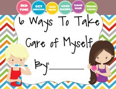 6 Ways to Take Care of Myself Book from magazine21 from magazine21 on TeachersNotebook.com (6 pages)  - This is a book that helps students to think of ways in which they can take care of themselves. The students illustrate the ideas.
