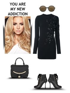 """You are my new addiction"" by zabead ❤ liked on Polyvore featuring Lanvin, See by Chloé, Dsquared2 and Mykita"