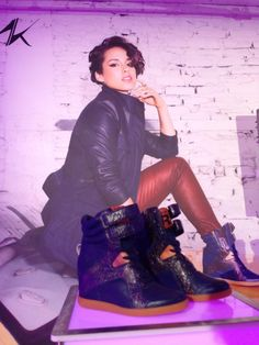 Alicia Keys for Reebok fall 2013