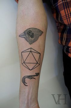 Gorgeous Geometric Tattoos #tattoo #bodyart #ink