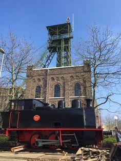 Originele stoomlocomotief ON14 terug in Heerlen bij het mijnmuseum