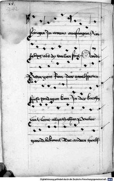 Mönch von Salzburg. Oswald von Wolkenstein: Geistliche Lieder mit Melodien Bayern/Österreich, erste Hälfte 15. Jh.: 3. Viertel 15. Jh. Cgm 715 Folio 258