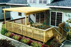 small deck ideas | Small Backyard Deck Designs