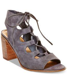 913163dd5b4 Steve Madden Women s Nilunda Lace-Up Sandals   Reviews - Pumps - Shoes -  Macy s