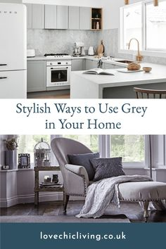 If you want ideas on how to use grey in your home, click through. Whether you want black and white ideas for a living room, grey with pops of colour, or with yellow, blue, pink and navy, find some inspiration in this home decor blog post. #lovechicliving Popular Bedroom Colors, Popular Paint Colors, Bedroom Color Schemes, Furniture Companies, Decorating Blogs, Colorful Decor, House Colors, Painted Furniture, Home Accessories