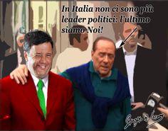 L'amarezza di Berlusconi per la scomparsa di veri leader in Italia